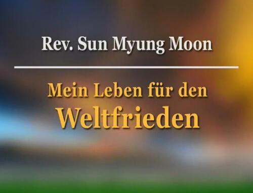 Autobiografie von Rev Sun Myung Moon