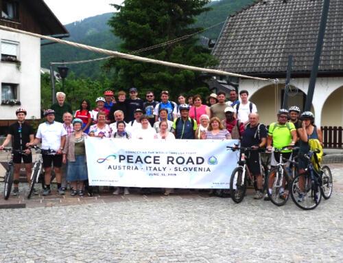 Peace Road  Kärnten 2019:  (Österreich) Kranjska Gora (Slowenien) – Pontebba (Italien)
