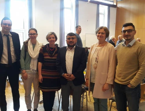 Muslime und Christen beim gemeinsamen Frühstück in Linz!