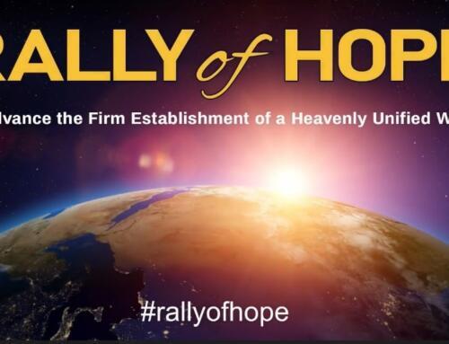 Erste Rally of Hope-60min-EUME Zusammenfassung auf Deutsch