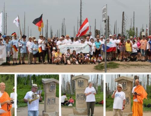 Peace Road- Friedensweg zum Dreiländereck Österreich-Deutschland-Tschechische Republik